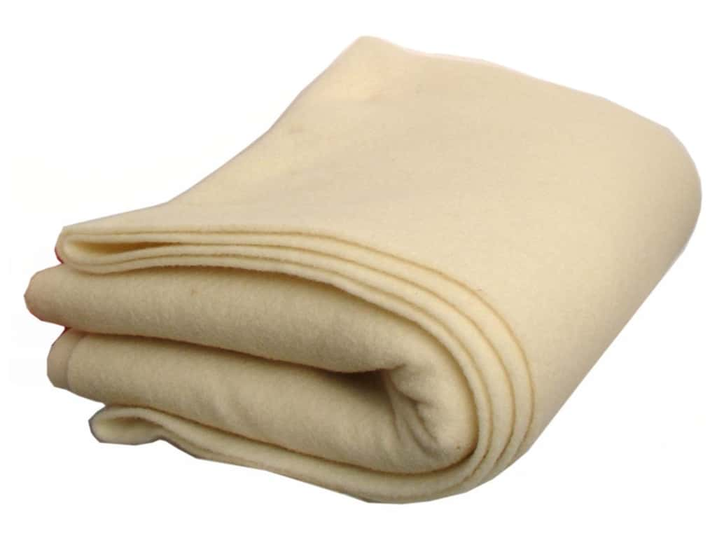 National Nonwovens 100% Virgin Wool Felt 36 in. x 2 yd. Natural (2 yards)