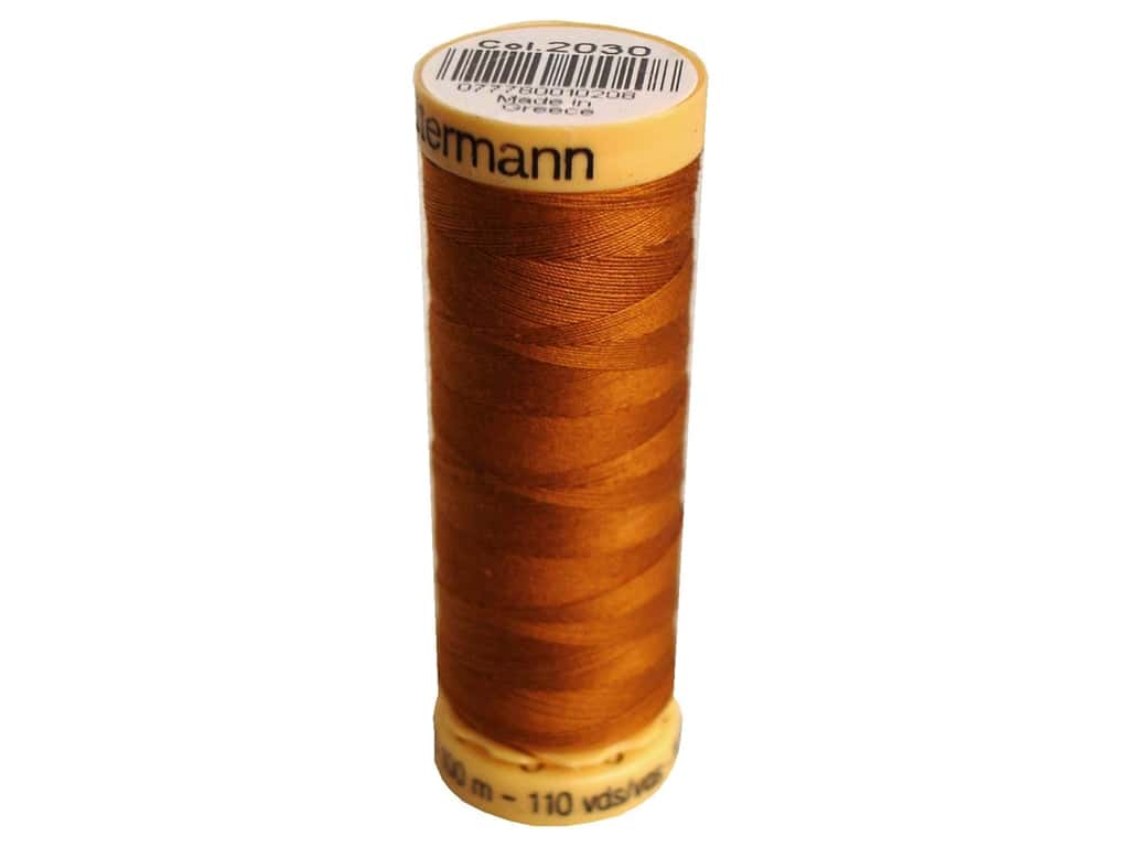 Gutermann 100% Natural Cotton Sewing Thread 109 yd. #2030 Bittersweet