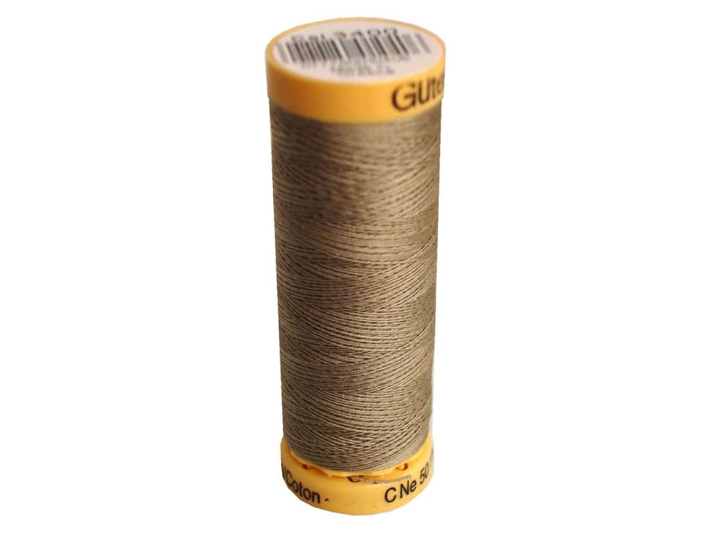 Gutermann 100% Natural Cotton Sewing Thread 109 yd. #3400 Taupe