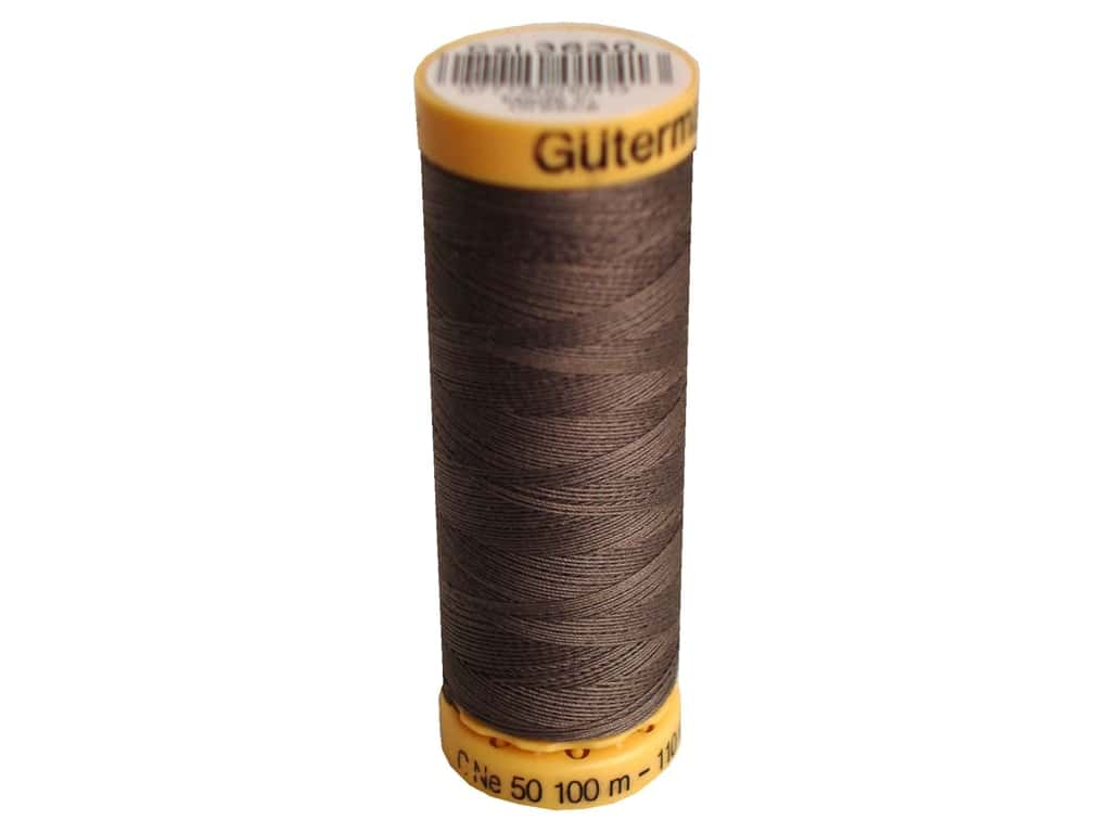 Gutermann 100% Natural Cotton Sewing Thread 109 yd. #3630 Cocoon Brown