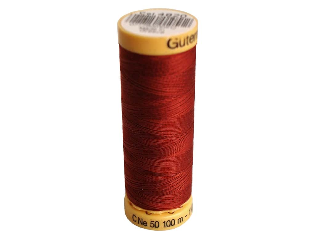 Gutermann 100% Natural Cotton Sewing Thread 109 yd. #4820 Rust