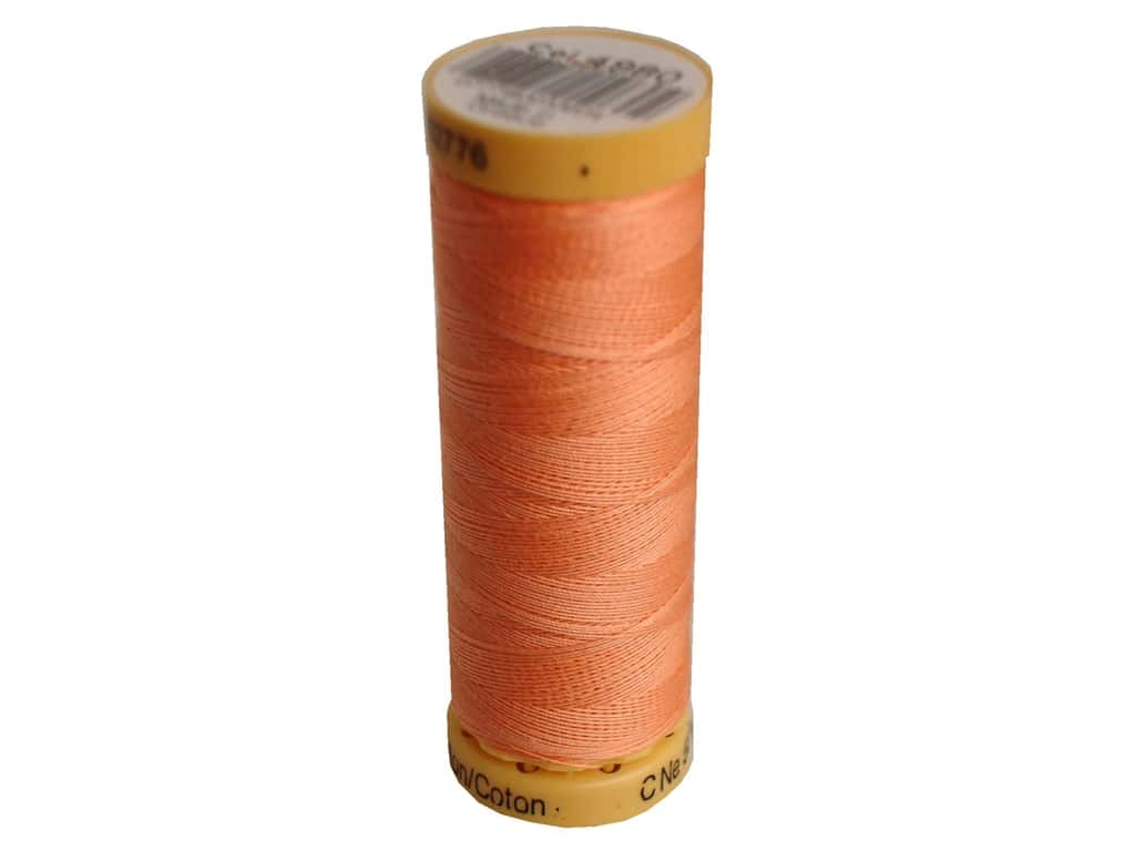 Gutermann 100% Natural Cotton Sewing Thread 109 yd. #4980 Light Salmon