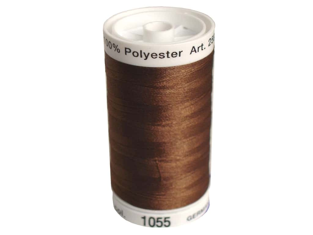 Mettler PolySheen Embroidery Thread 875 yd. #1055 Bark