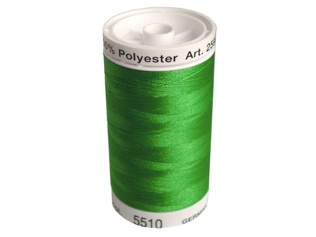 Mettler PolySheen Embroidery Thread 875 yd. #5510 Emerald