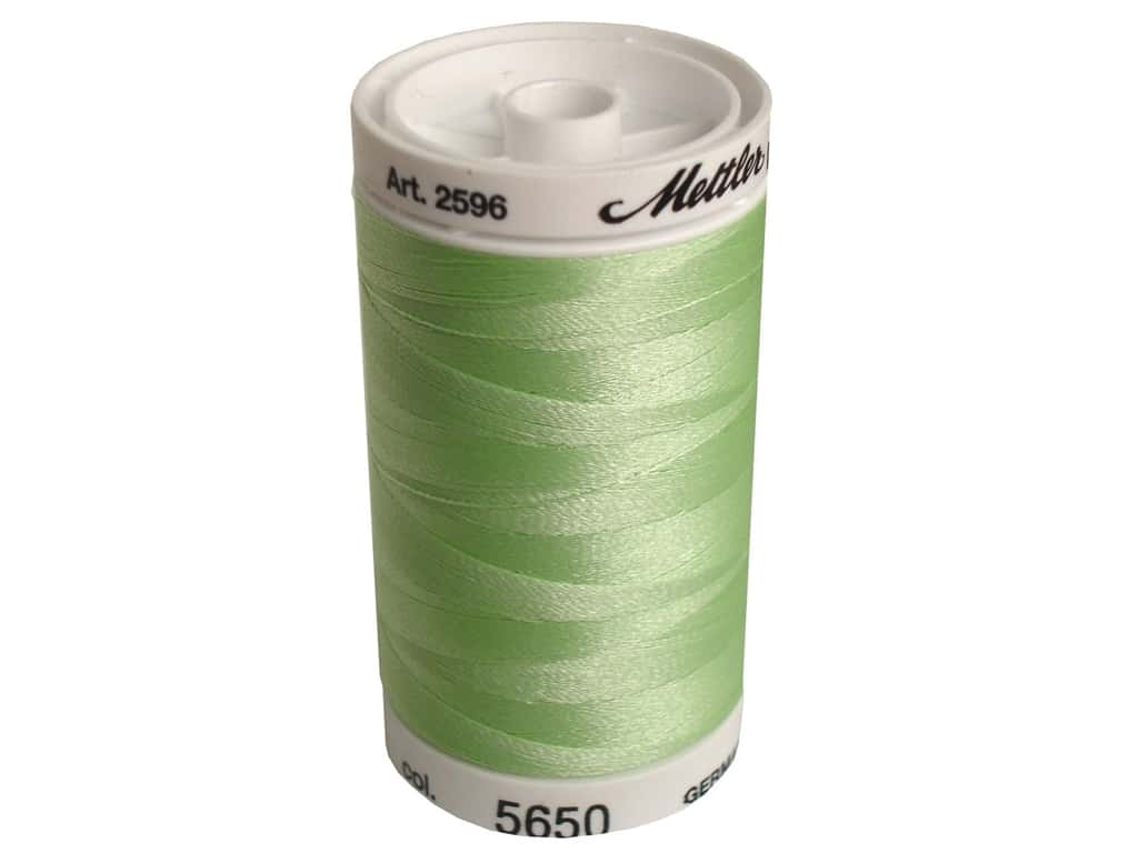 Mettler PolySheen Embroidery Thread 875 yd. #5650 Spring Frost