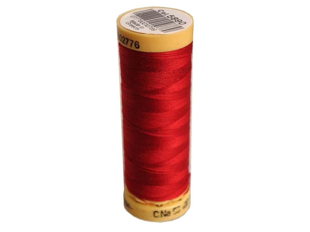 Gutermann 100% Natural Cotton Sewing Thread 109 yd. #5890 Cranberry