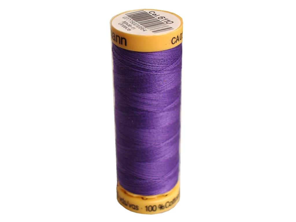 Gutermann 100% Natural Cotton Sewing Thread 109 yd. #6110 Purple