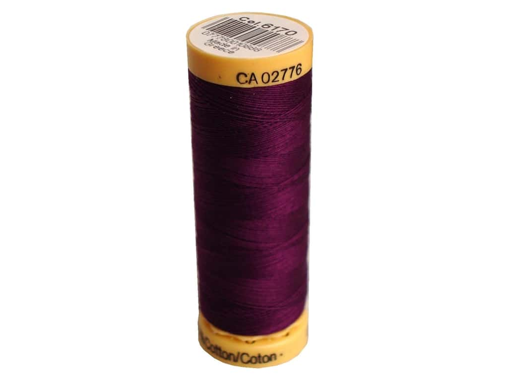 Gutermann 100% Natural Cotton Sewing Thread 109 yd. #6170 Grape
