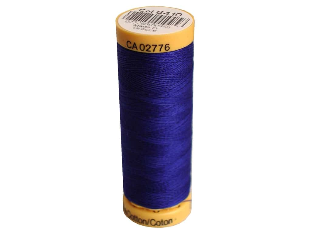 Gutermann 100% Natural Cotton Sewing Thread 109 yd. #6410 Sea Navy