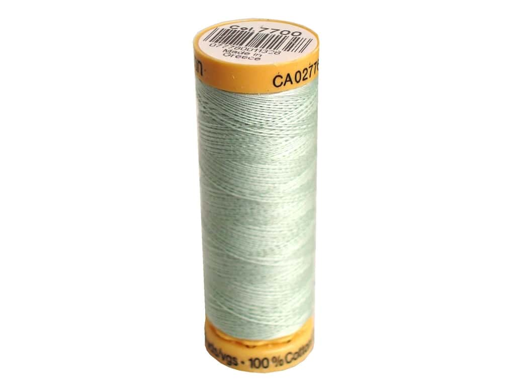 Gutermann 100% Natural Cotton Sewing Thread 109 yd. #7700 Sea Foam