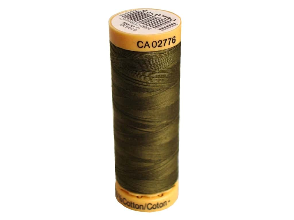 Gutermann 100% Natural Cotton Sewing Thread 109 yd. #8780 Bronze