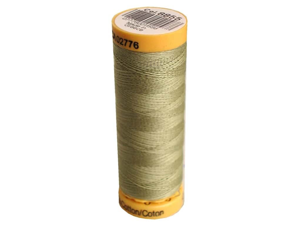 Gutermann 100% Natural Cotton Sewing Thread 109 yd. #8855 Dark Celery