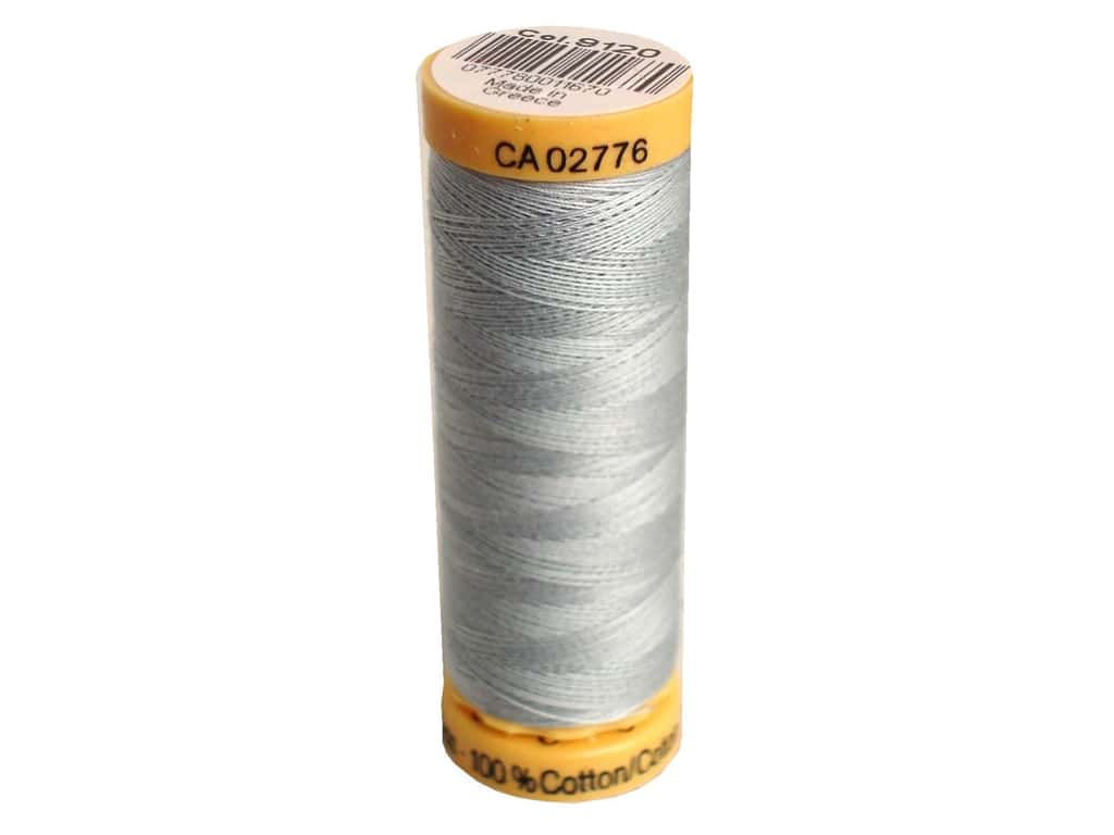 Gutermann 100% Natural Cotton Sewing Thread 109 yd. #9120 Silver