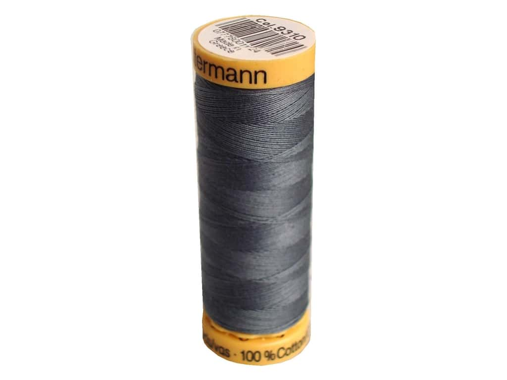 Gutermann 100% Natural Cotton Sewing Thread 109 yd. #9310 Slate