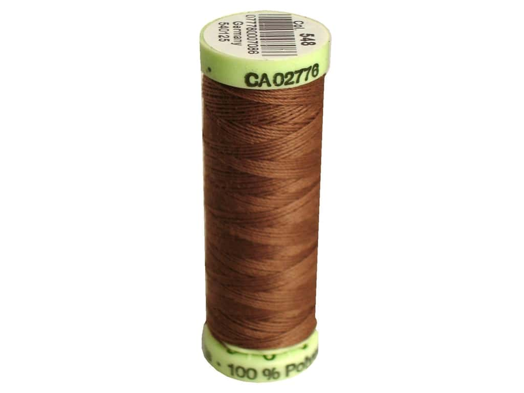 Gutermann Top Stitch Heavy Duty Thread 33 yd. #548 Cork