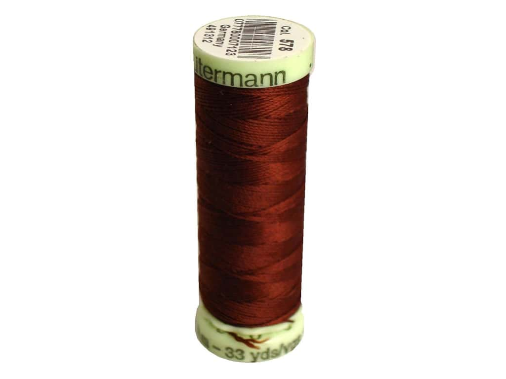 Gutermann Top Stitch Heavy Duty Thread 33 yd. #578 Chocolate