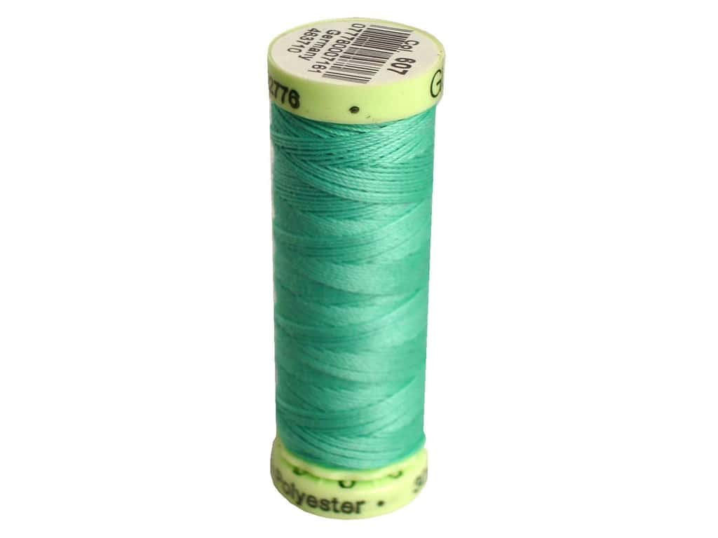 Gutermann Top Stitch Heavy Duty Thread 33 yd. #607 Crystal Blue