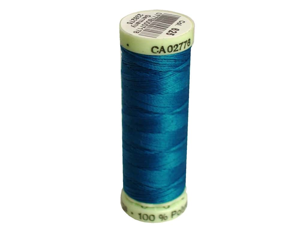 Gutermann Top Stitch Heavy Duty Thread 33 yd. #625 Ming Blue