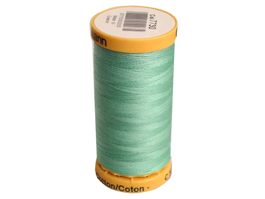Gutermann 100% Natural Cotton Sewing Thread 273 yd. #7730 Light Green