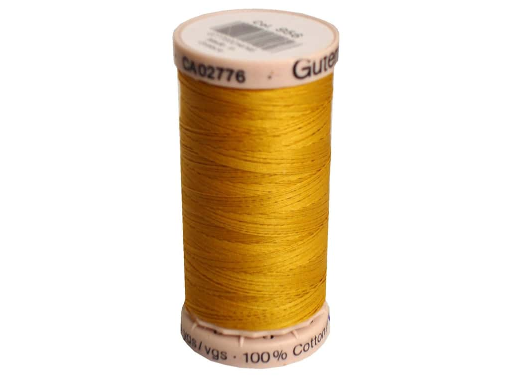 Gutermann Hand Quilting Thread 220 yd. #758 Yellow