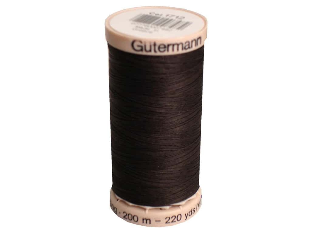 Gutermann Hand Quilting Thread 220 yd. #1712 Chocolate