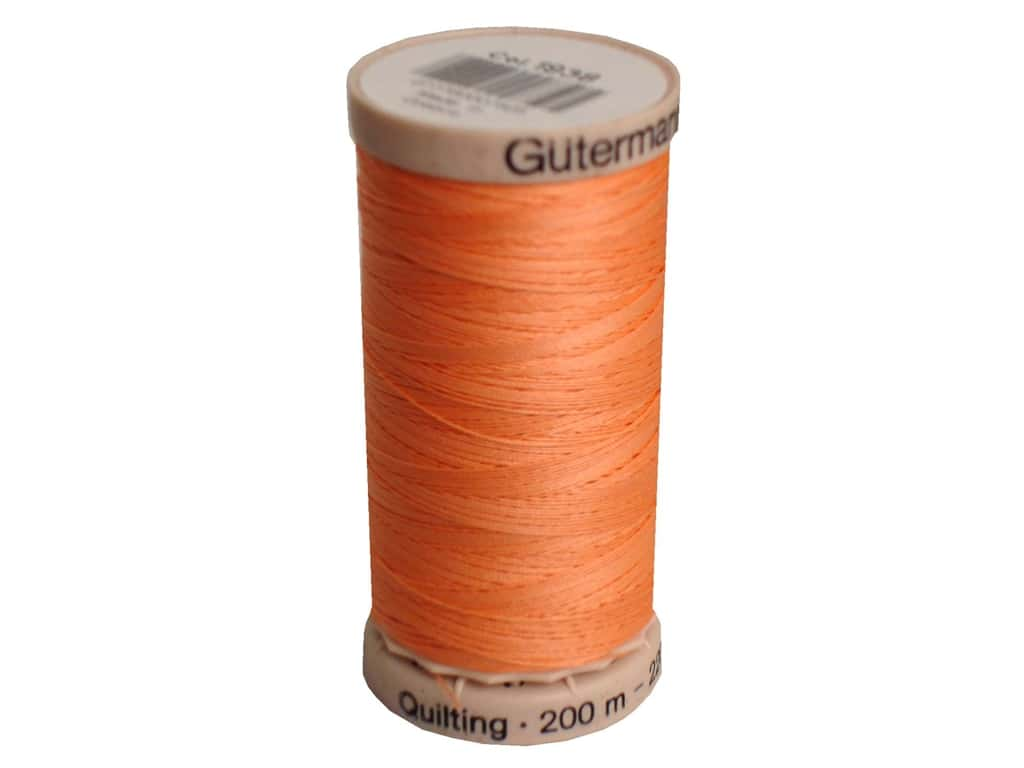 Gutermann Hand Quilting Thread 220 yd. #1938 Peach