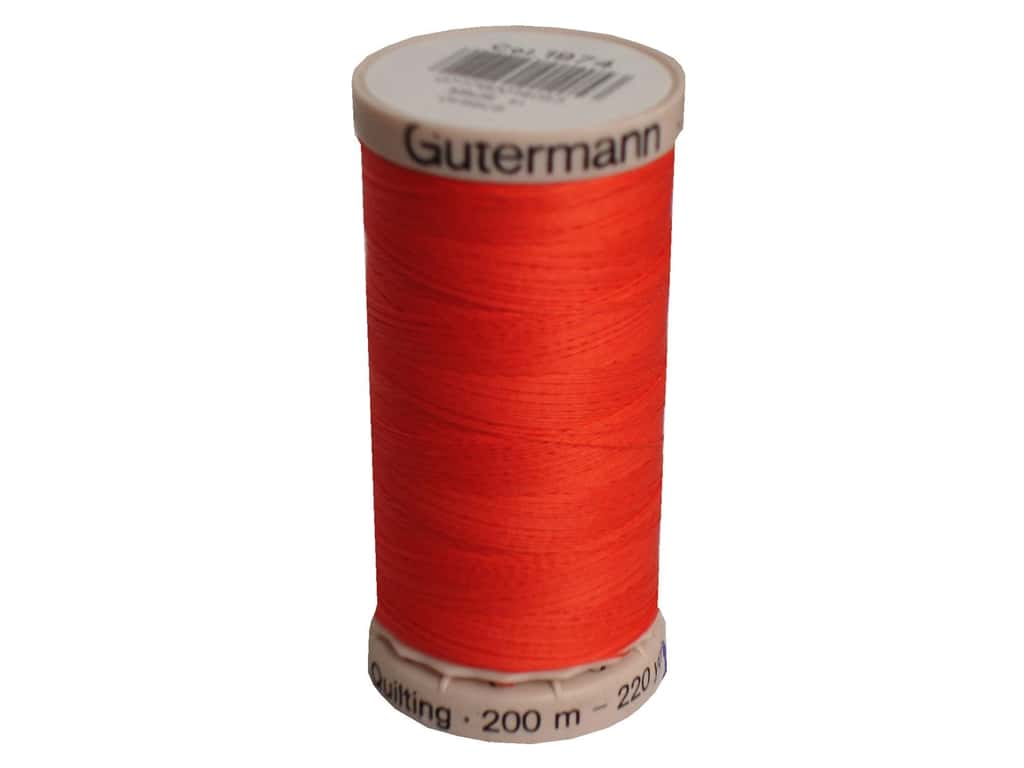 Gutermann Hand Quilting Thread 220 yd. #1974 Artillery
