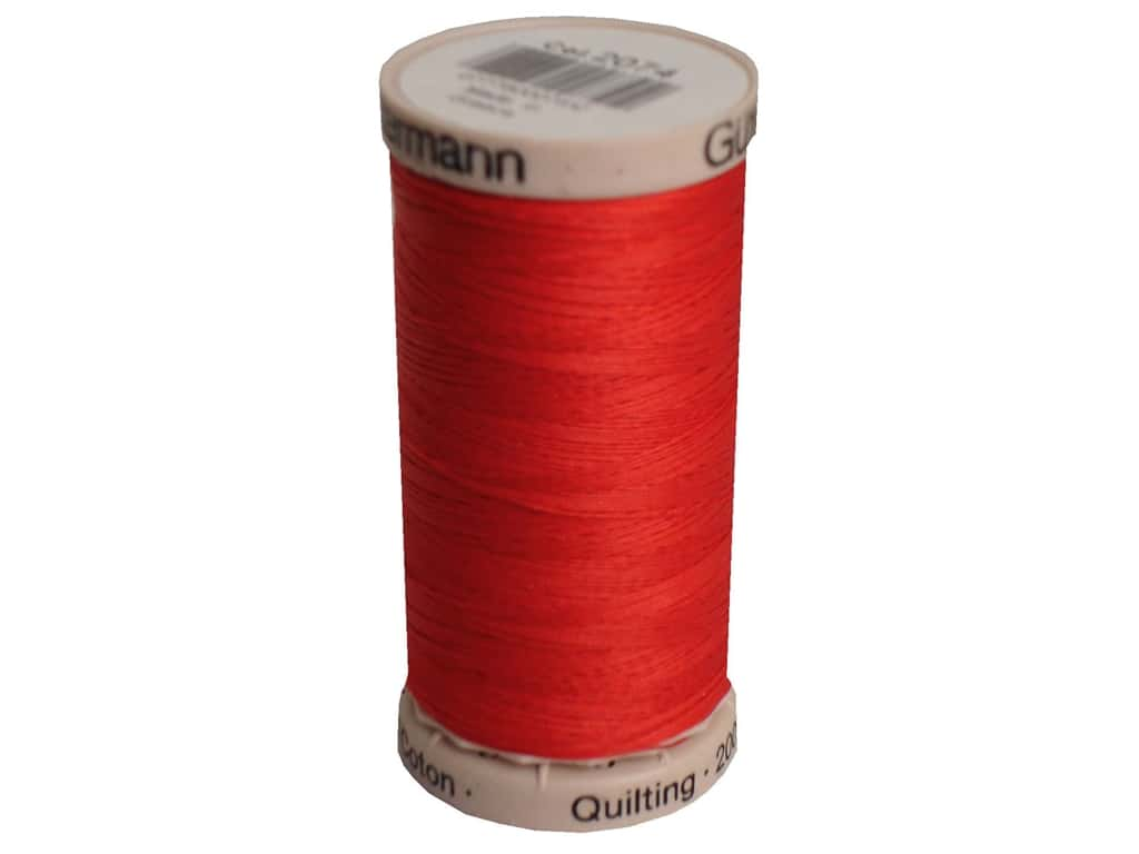 Gutermann Hand Quilting Thread 220 yd. #2074 Red