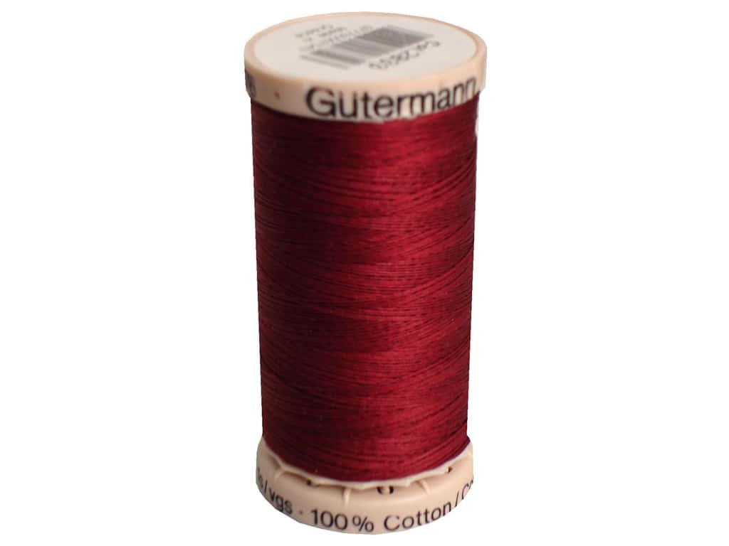 Gutermann Hand Quilting Thread 220 yd. #2833 Wine