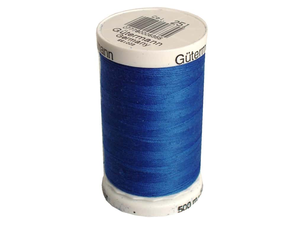 Gutermann Sew-All Thread 547 yd. #251 Cobalt Blue