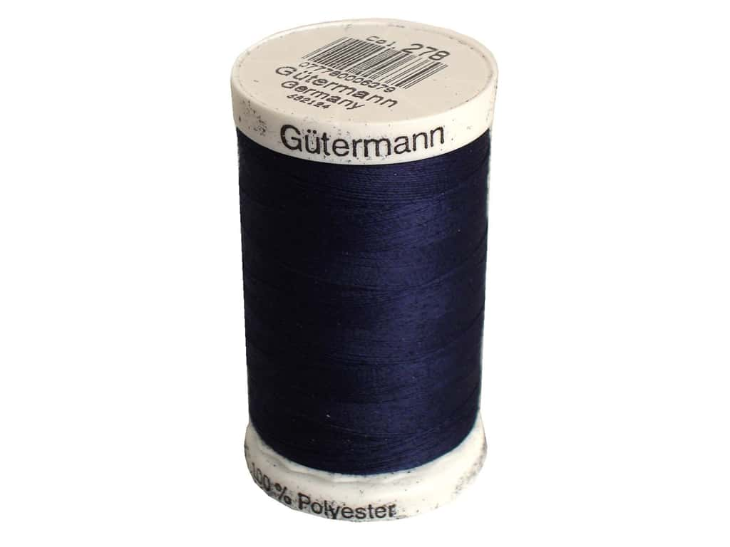 Gutermann Sew-All Thread 547 yd. #278 Midnight