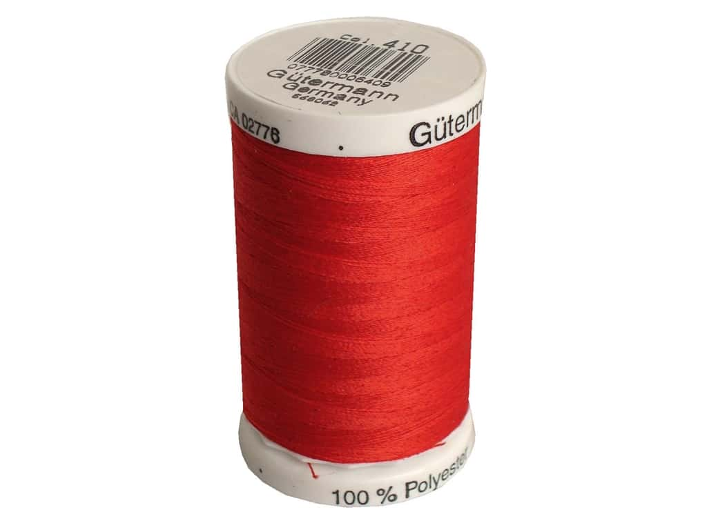 Gutermann Sew-All Thread 547 yd. #410 Scarlet