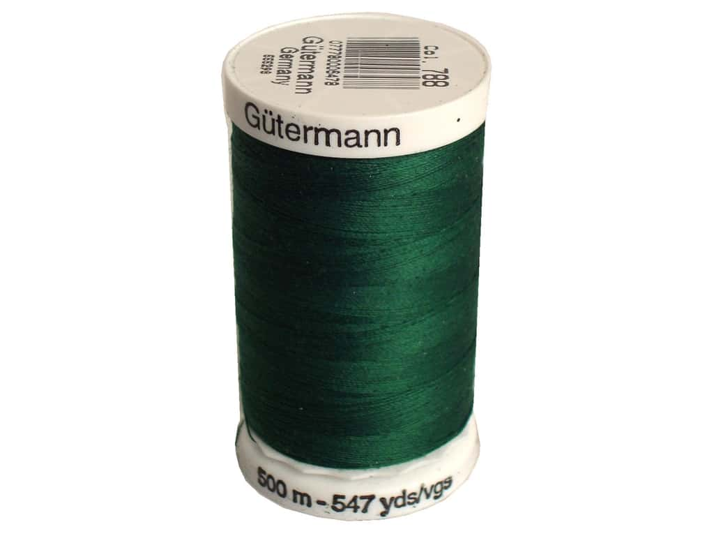 Gutermann Sew-All Thread 547 yd. #788 Dark Green