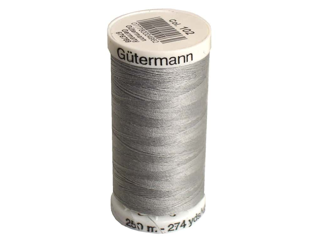 Gutermann Sew-All Thread 273 yd. #102 Mist Grey