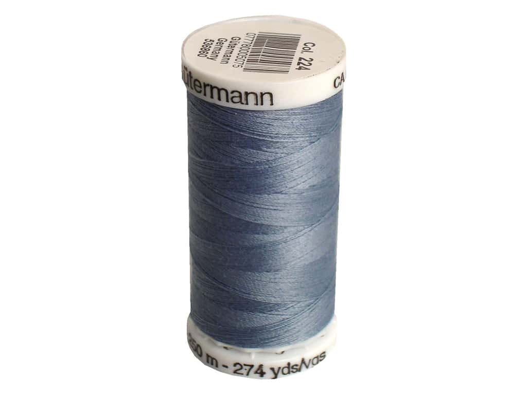 Gutermann Sew-All Thread 273 yd. #224 Tile Blue