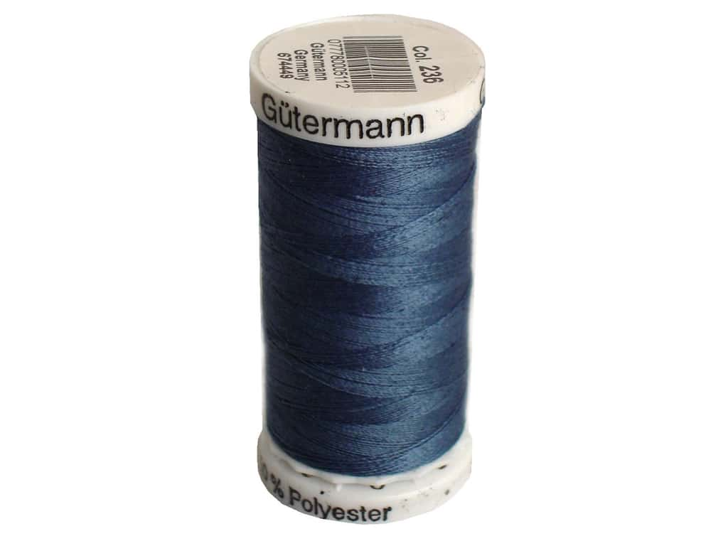 Gutermann Sew-All Thread 273 yd. #236 Stone Blue