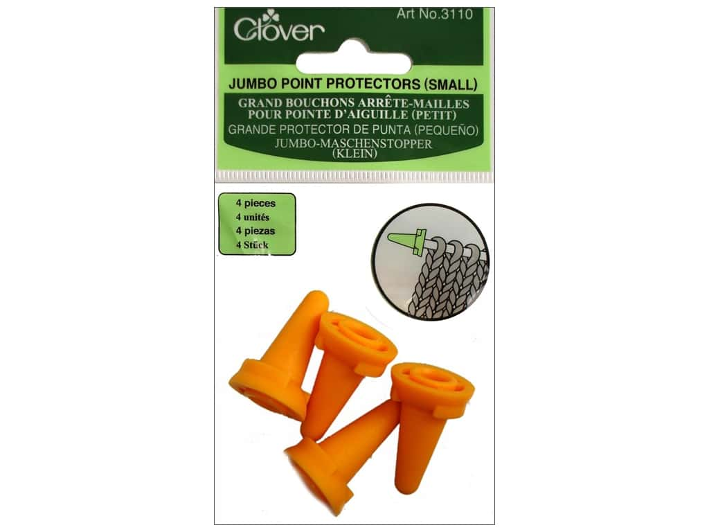 Clover Jumbo Point Protectors Small 4 pc.