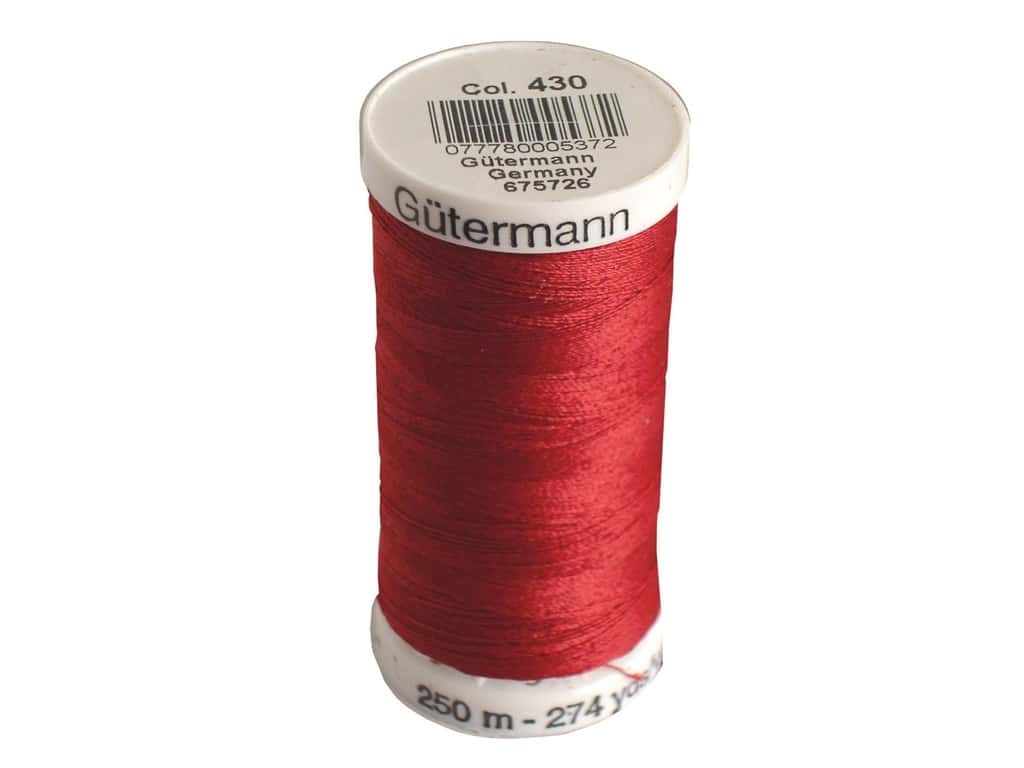 Gutermann Sew-All Thread 273 yd. #430 Ruby Red