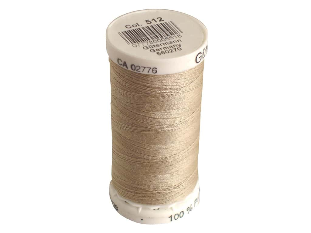 Gutermann Sew-All Thread 273 yd. #512 Putty