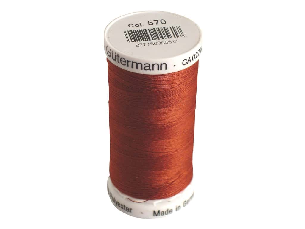 Gutermann Sew-All Thread 273 yd. #570 Rust