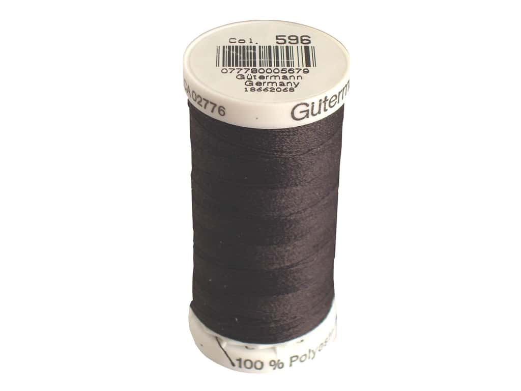 Gutermann Sew-All Thread 273 yd. #596 Brown
