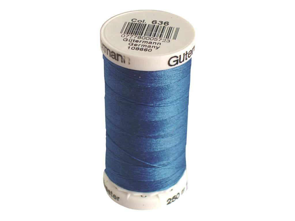 Gutermann Sew-All Thread 273 yd. #636 Mineral Blue