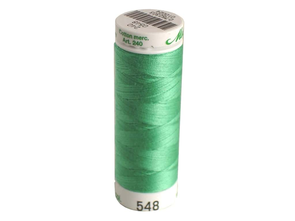 Mettler Silk Finish Cotton Thread 60 wt. 220 yd. #0907 Bottle Green