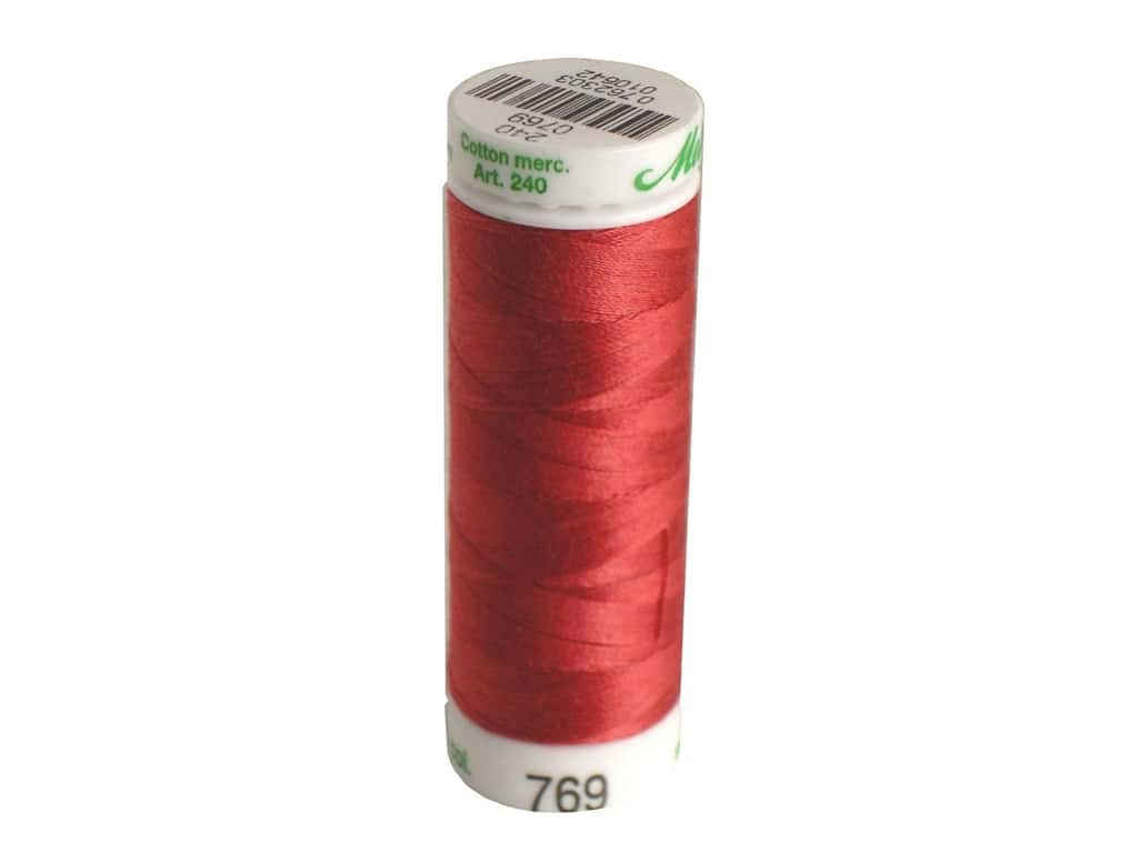 Mettler Silk Finish Cotton Thread 60 wt. 220 yd. #0628 Blossom