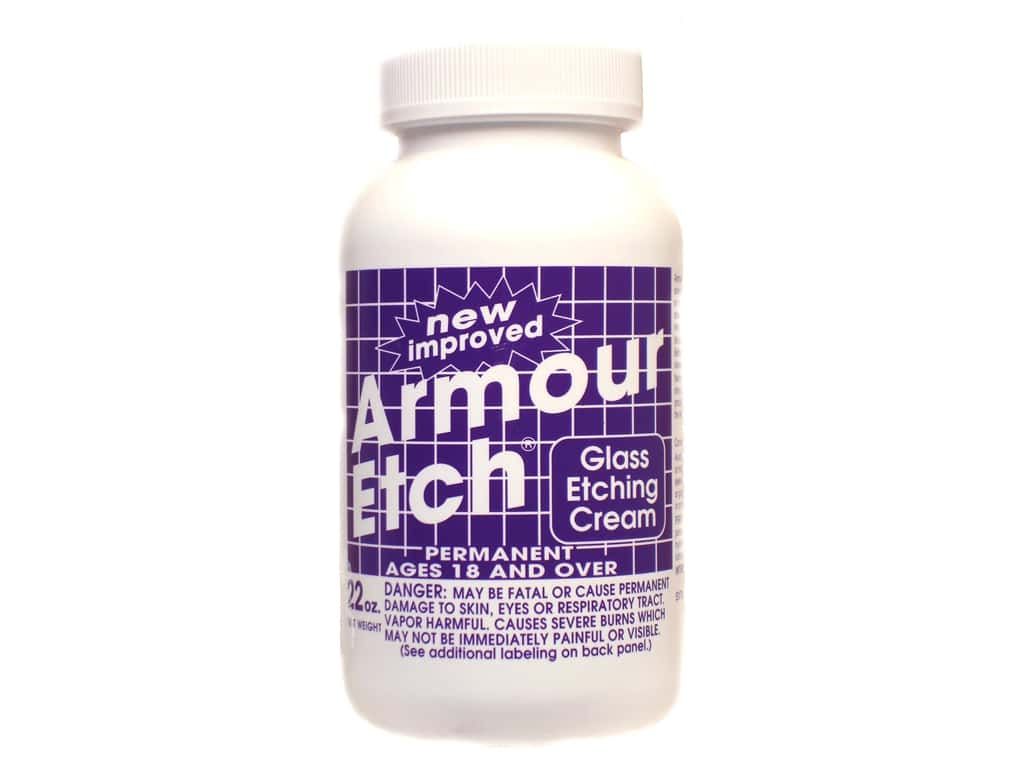 Armour Etch Glass Etching Cream 22 oz.