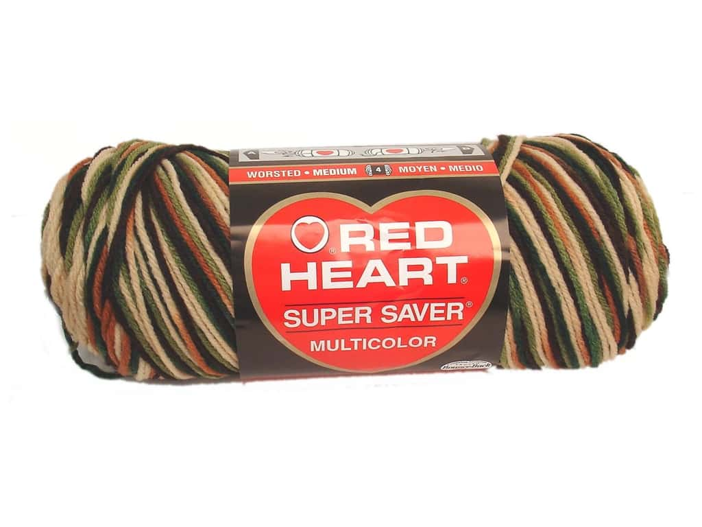 Red Heart Super Saver Yarn 236 yd. #0961 Woodsy