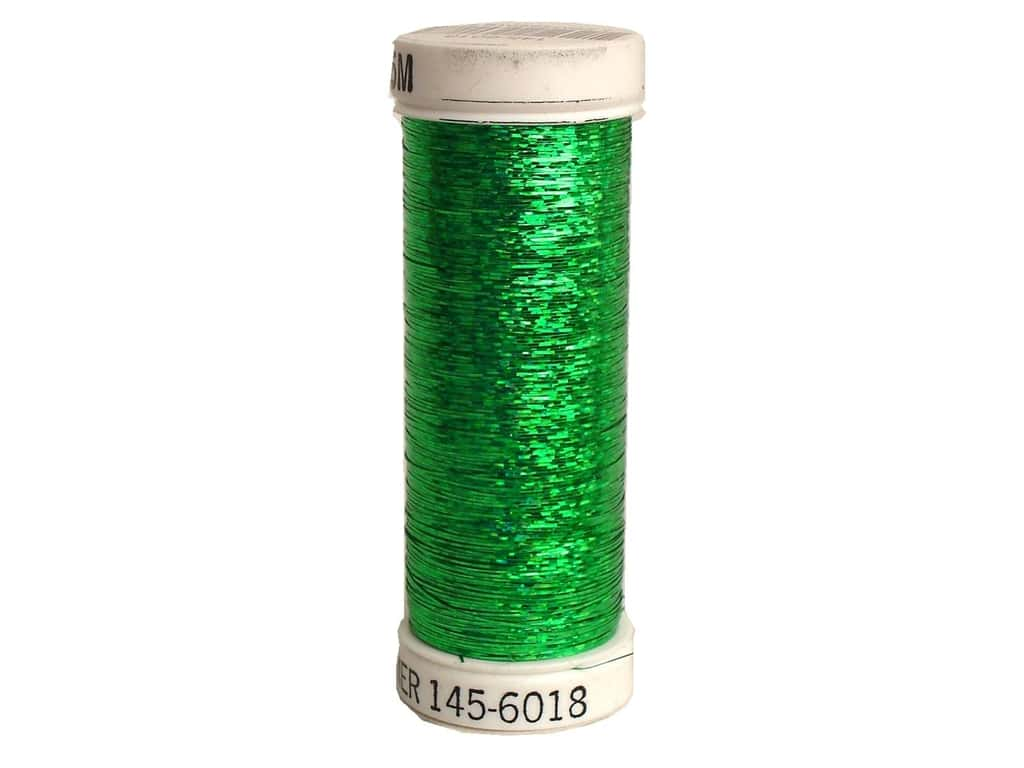 Sulky Holoshimmer Metallic Thread 250 yd. #6018 Christmas Green