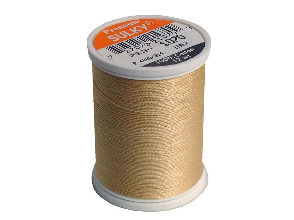 Sulky Cotton Thread 12 wt. 330 yd. #1070 Gold