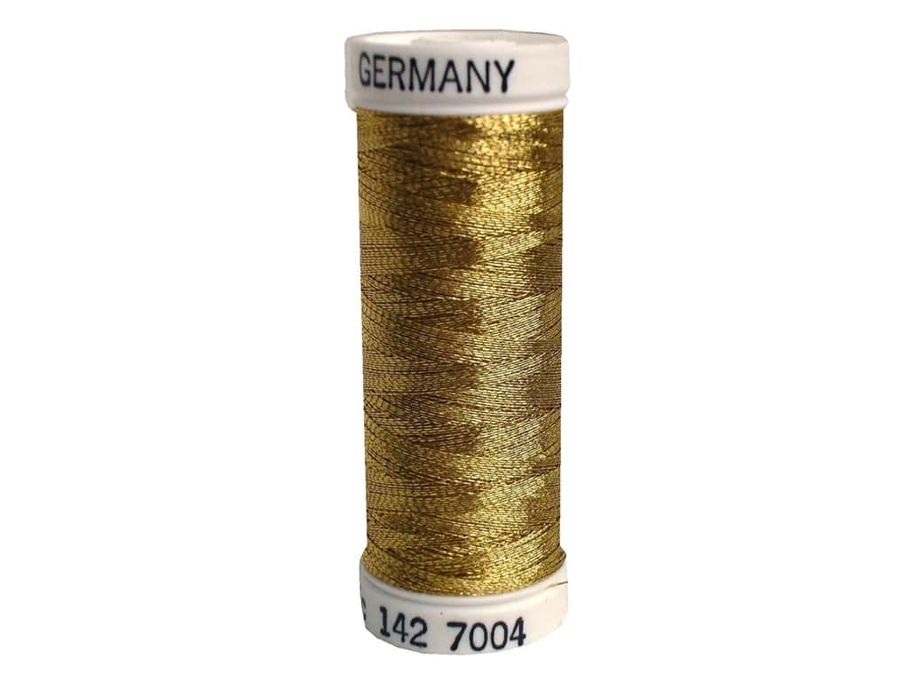 Sulky Original Metallic Thread 165 yd. #7004 Dark Gold