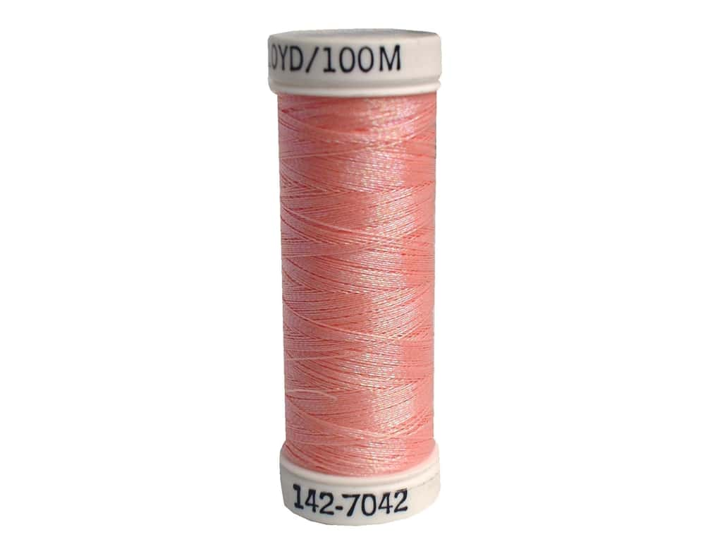 Sulky Original Metallic Thread 165 yd. #7042 Rainbow Prism Peach